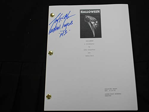 Halloween Movie Memorabilia (TONY MORAN Signed HALLOWEEN SCRIPT Autograph Michael)