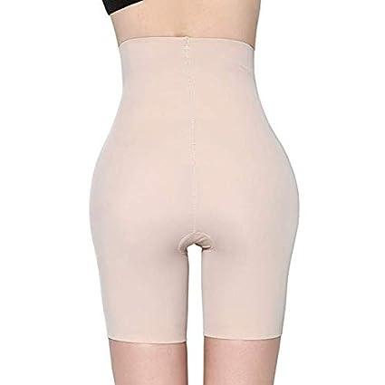 MOVWIN Womens Shapewear Seamless Thigh Slimmer Hi-Waist Tummy Control Body Shaper Smooth Slip Short Butt Lifter Panties