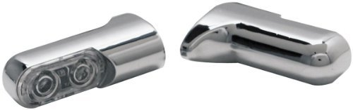 Arlen Ness 12-740 Chrome Bolt-On Turn Signal with Power LED Accent