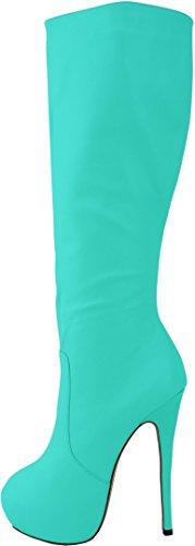 CFP - Zapatillas altas mujer Verde