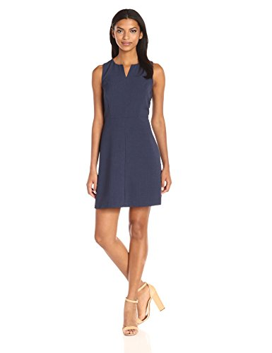 kensie-womens-stretch-crepe-dress-heather-navy-l
