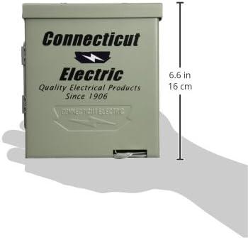 Connecticut Electric CESMPS54HR 50-Amps//120240-Volt RV Power Outlet
