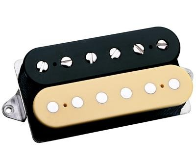 Dimarzio Standard Cream - DiMarzio DP223 PAF Bridge Humbucker 36th Anniversary Electric Guitar Pickup Black/Cream Regular Spacing