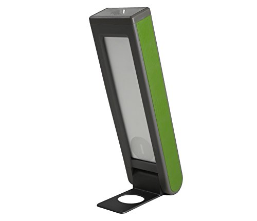 Helio Solar Phone Charger | Solar Lights | LED Lantern | Camping Flashlight with USB Charger | 5200 mAH Battery with Solar Panel - Green