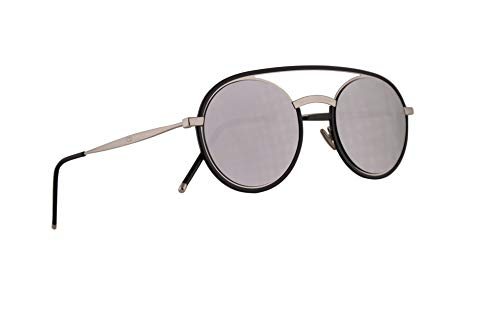 Christian Dior Homme DiorSynthesis01 Sunglasses Black Palladium w/Grey Silver Mirror Lens 51mm CSA0T Dior Synthesis01 Dior Synthesis 01 Dior Synthesis01/S DiorSynthesis01/S