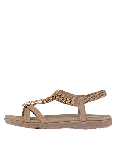 NIKKI ME Women's Sandals Beige