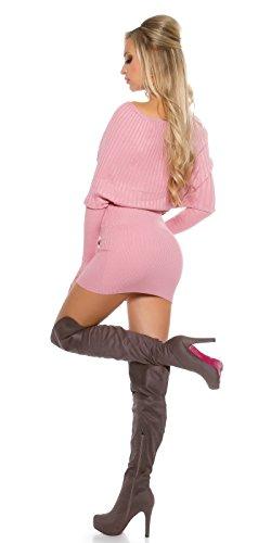 In-Stylefashion - Vestido - para mujer rosa oscuro