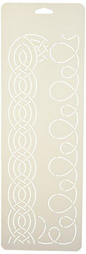 Corner Border Quilt Stencil (Sten Source Quilt Stencils-2