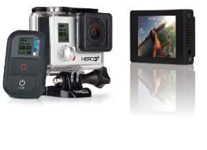 GoPro HERO3+ Camera: Black Edition PLUS LCD touch BacPac - Combo Package