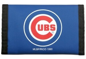 Rico MLB Chicago Cubs Nylon Trifold Wallet ()