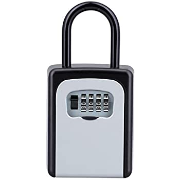 Amazon Com Key Lock Box Combination Lockbox With Code