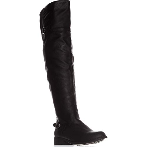Price comparison product image American Rag Womens Adarra Closed Toe Knee High Fashion,  Black Smooth,  Size 11.0