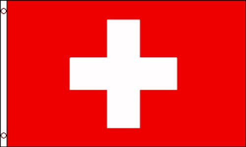 Switzerland National Flag (Polyester), 3' x - Shop Switzerland