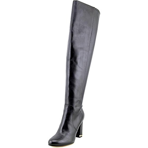 MICHAEL Michael Kors Sabrina Over The Knee Chain Heel Boots - Black, 8 US / 38.5 - Kors Michael Find