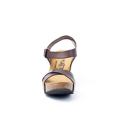 Sandalias De Mujer Plakton Marrón Vestir R0dB0qw6