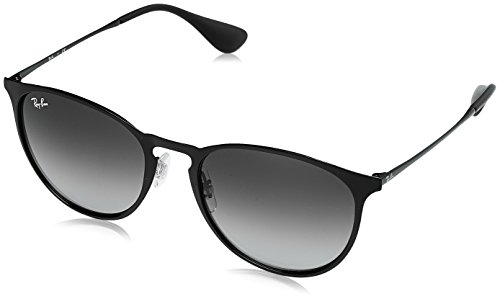 Ray-Ban METAL UNISEX SUNGLASS - BLACK Frame GRAY GRADIENT Lenses 54mm - Bans Are Ray All Unisex