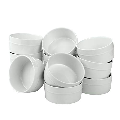 overandback 822324 Set of 12 Round Ramekin, 5