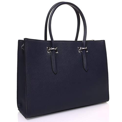 A Charmoni Taglia Mano Donna Borsa Blu Unica 48axwn56qa