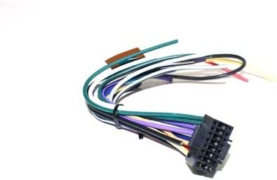 New 16 Pin AUTO STEREO WIRE HARNESS PLUG for KENWOOD KDC-108 Player