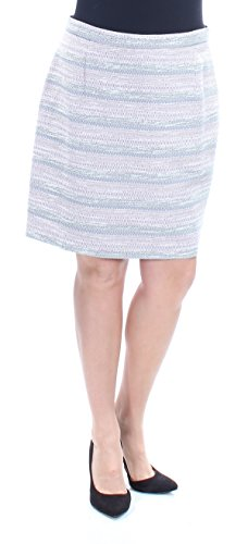 Petite Tweed Pencil Skirt - Tahari Asl Petite Striped Tweed Pencil Skirt