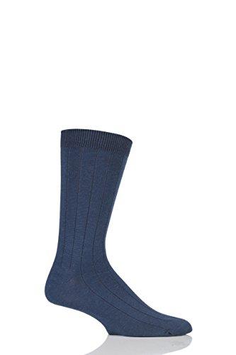 Mens-1-Pair-Braintree-Hemp-Hero-Plain-Hemp-and-Organic-Cotton-Socks-Navy-One-Size