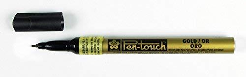 Sakura Pen Touch Paint Marker, Gold Extra Fine #41101-art Craft Pen Maker