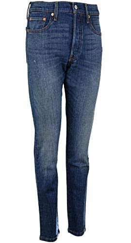 Skinny Woman Supercharger 501 Pants 30 Navy 28 Blue Levi's FPUgqww