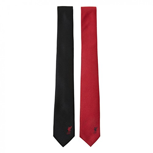 Liverpool FC Authentic EPL 2 Pack Skinny Tie Red/Black