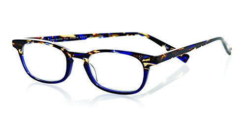 eyebobs On Board, Blue and Tortoise, Reading Glasses - SUPERIOR QUALITY – because your eyes deserve the good - Sunglasses Scojo
