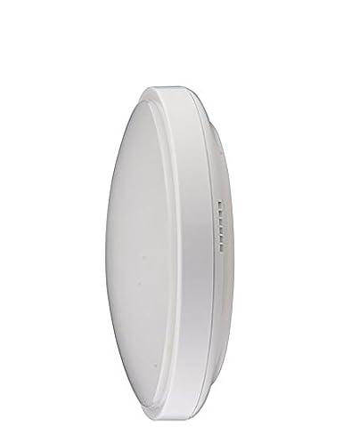 Lámpara de techo LED con sensor de movimiento de microondas 18 W IP44 120 ° luz
