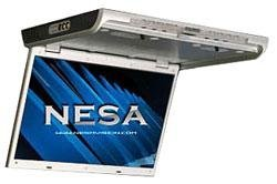NESA NSC-1414 14.1'' Ceiling Mount 1080P Full HD Monitor DVD Combo/MHL(3-Inter.Shrouds) by Nesa (Image #1)