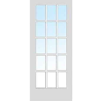 National Door Company Zz364995 Primed Mdf 15 Lite True