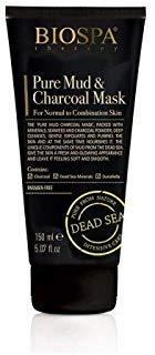 Bio Spa Dead Sea Intensive Care Therapy Pure Mud & Charcoal Mask (normal to combination skin) 5.1 Oz / 150 ml