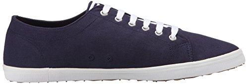 Zapatos para White Twill Blue Hombre Carbon Perry Oxford Cordones Fred Kingston de q6tnF
