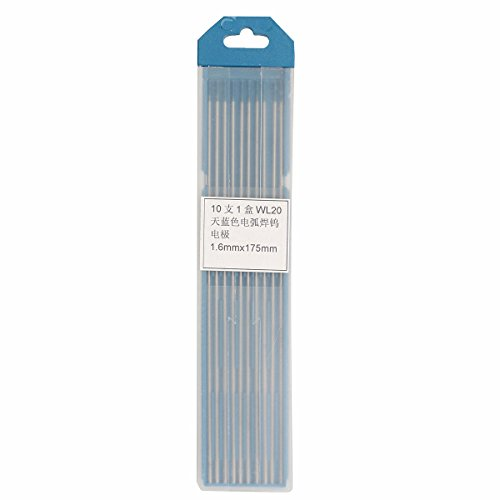 Welding Tungsten Electrodes Lanthanated Electrode Blue Tip with Box(1.6*175mm) - 2