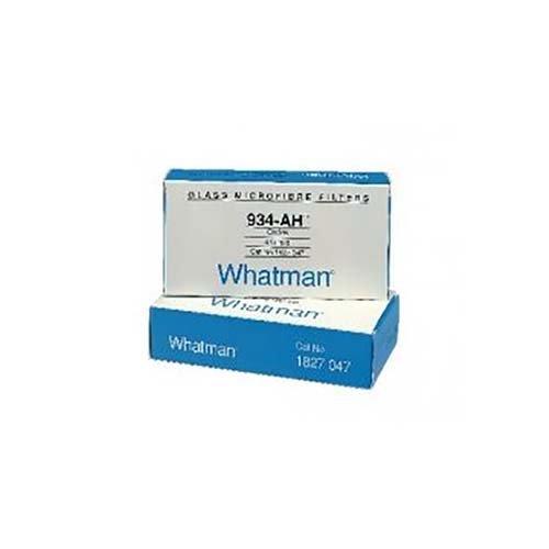 Whatman 1827-021-DS Glass Microfiber Binder Free Filter, 1.5 Micron, 3.7 s/100mL Flow Rate, Grade 934-AH, 21 mm Diameter (Pack of 100) by Whatman