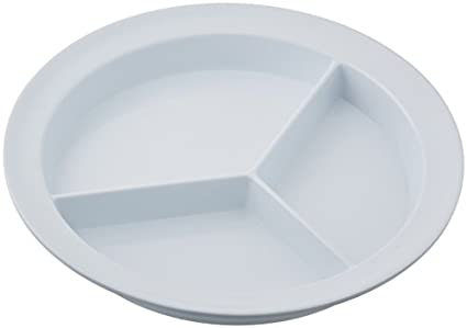 Sammons Preston Partitioned Scoop Dish Melamine Plate with Dividers for Kids Elderly and  sc 1 st  Amazon.com & Amazon.com: Sammons Preston Partitioned Scoop Dish Melamine Plate ...