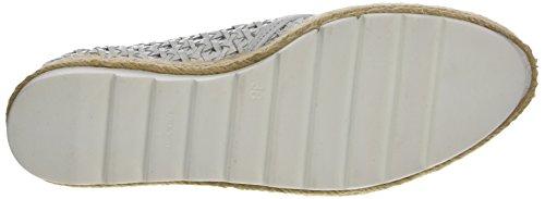 Donna Piu 52015 Marina, Zapatos de Cordones Derby para Mujer Blanc (Capra Intrecciato Bianco)
