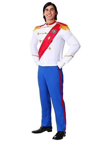 Prince Eric Costumes Men - Men's Charming Prince Costume X-Large