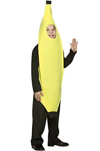 Make A Banana Costume (Rasta Imposta Childrens Costume, Deluxe Banana, 7-10)