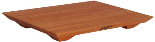 (John Boos Block CHY-FB201501 Cherry Wood Fusion Edge Grain Cutting and Serving Board with Feet, 20 Inches x 15 Inches x 1 Inch)