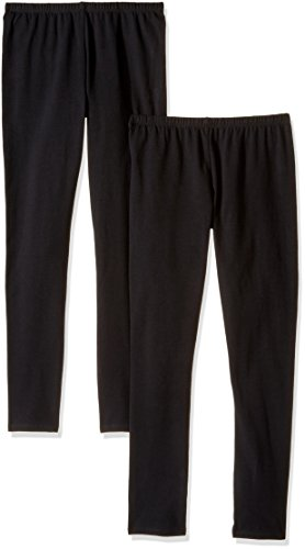 - The Children's Place Girls' 2 Pack Basic Leggings, Black 47819 (Pack of 2), XXL(16)