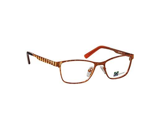 Children's Eyeglasses ES75 (Brown, - Tortoise Rimless Eyeglasses Shell