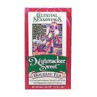 Celestial Seasonings Black Tea Nutcracker Sweet Holiday Tea Contains Caffeine - 20 Tea Bags, 12 Pack