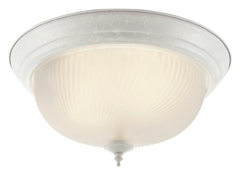 Tensioned Advantage Electrol Electric Screen - Trans Globe Lighting 13011 WH/FR Indoor Murano 11