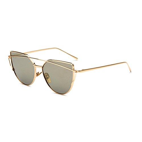 JUNHONGZHANG De Eye Crapaud Lunettes De Décoratives Conduisant des K Coloré Femmes Soleil Sunglasses Métal Lunettes Soleil Cat des rH5wfrq