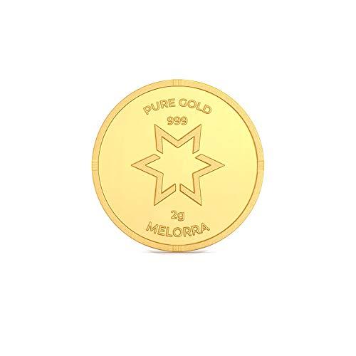 Melorra 2 g 24 kt Gold Coins