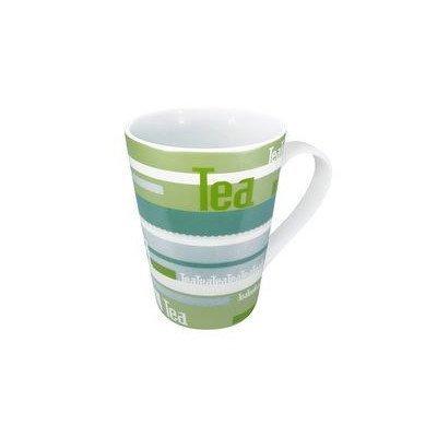 Konitz 13-Ounce Tea Stripes Mugs, Assorted, Set of 4 by Konitz