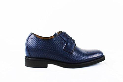 Qui Chaussures Bleu augmentent Homme Zerimar Votre cms Réhaussantes des Taille Plus Marine Chaussures pour 7 F1zFw8qAO