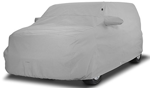 Covercraft Custom Fit Car Cover for Jeep Wrangler  (Noah Fabric, Gray)